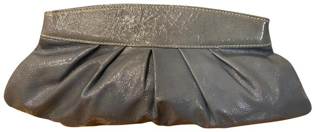 Item - Purse Dusty Gray Patent Leather Clutch