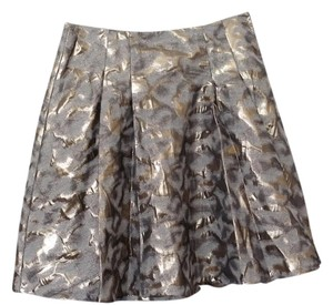 The Limited Foil Skirt Gold