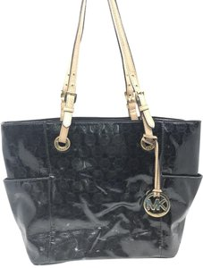 Michael Kors Tote in Black/Cream