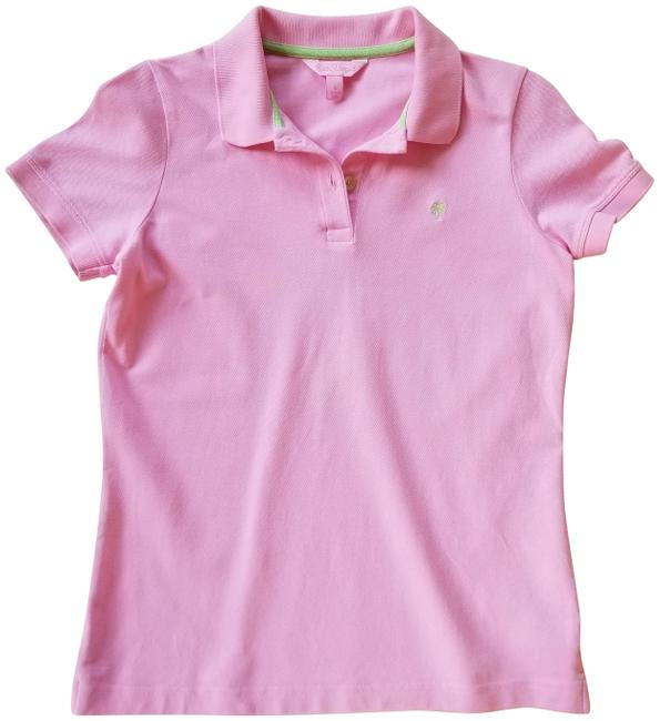 Item - Pink Polo Tee Shirt Size 4 (S)
