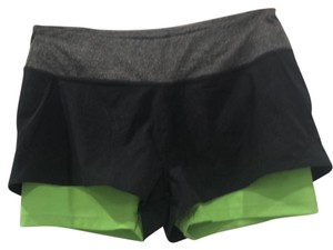 MPG double layered shorts with zip pocket
