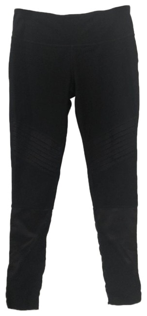 Item - Black With Mesh Inserts On Of Legs Activewear Bottoms Size 8 (M)