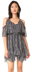 MISA Los Angeles short dress Black Multi on Tradesy