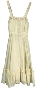 Gunne Sax short dress Ivory on Tradesy