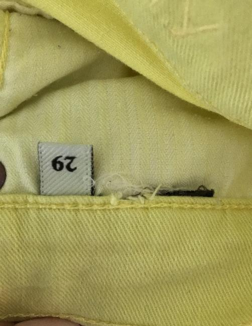 7 For All Mankind Banana Yellow Light Wash Seven Like Skinny Jeans Size 8 (M, 29, 30) 7 For All Mankind Banana Yellow Light Wash Seven Like Skinny Jeans Size 8 (M, 29, 30) Image 7