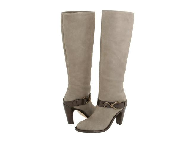 Item - Gray Tantivy Tall 90 Nike Air Technology Leather Knee High Pull On Boots/Booties Size US 6 Regular (M, B)