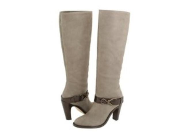 Item - Gray Tantivy Tall 90 Nike Air Technology Knee High Leather Hardware Pull On Boots/Booties Size US 10.5 Regular (M, B)