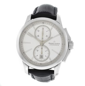 Maurice Lacroix Men Maurice Lacroix Pontos PT7538/48 Stainless Steel 42MM Watch