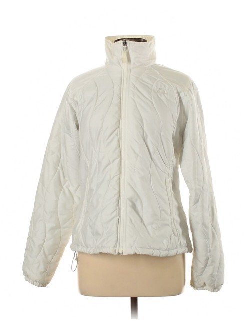 Item - White Puffer Jacket Coat Size 12 (L)