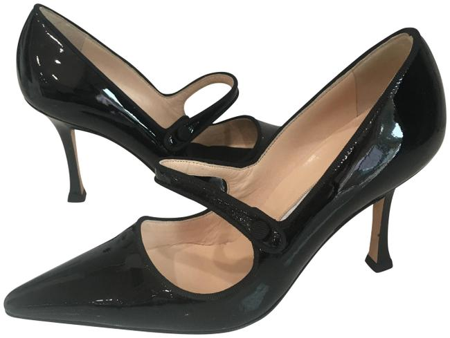 Item - Black Mary Jane Pumps Size EU 36 (Approx. US 6) Regular (M, B)
