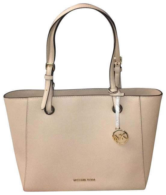 Item - Light Pink Leather Tote