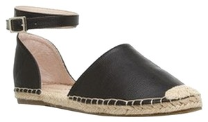 Other Black/w Tan Espadrille Accents Flats
