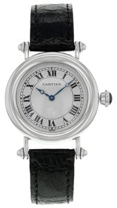Cartier Cartier Diablo 1463.1 Platinum Hand-Wind Midsize Women's Watch