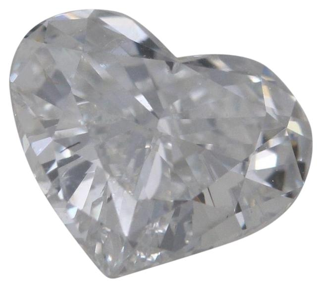 Item - White Heart Loose Diamond (1 Ct F Color Si1 Clarity) Gia C36000002