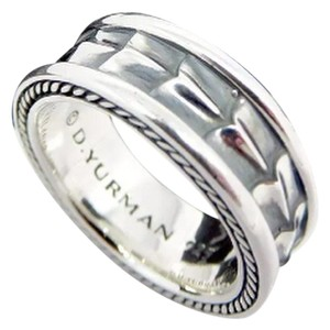David Yurman David Yurman Armory Band Ring in Sterling Silver