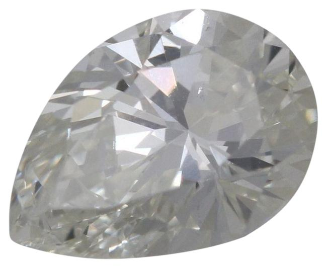 Item - White Pear Loose Diamond (1 Ct E Color Si1 Clarity) Gia C36000049