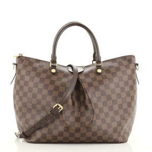 Louis Vuitton Siena Canvas Tote in Brown