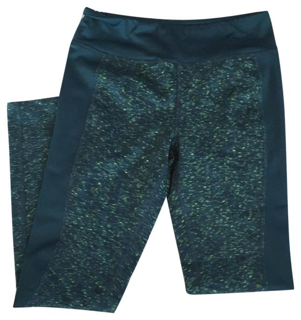 Item - Teal and Green Activewear Bottoms Size 8 (M)