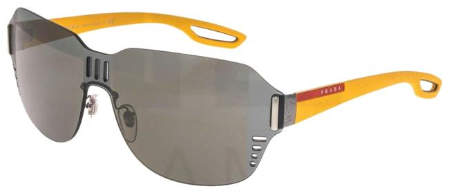 Item - Yellow Gray 05s Linea Rossa Lj Silver Matte Rubber Ps05ss Sunglasses