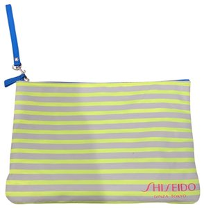 shiseido Shisedio neon makeup bag, couple pen marks as you can see in the picture