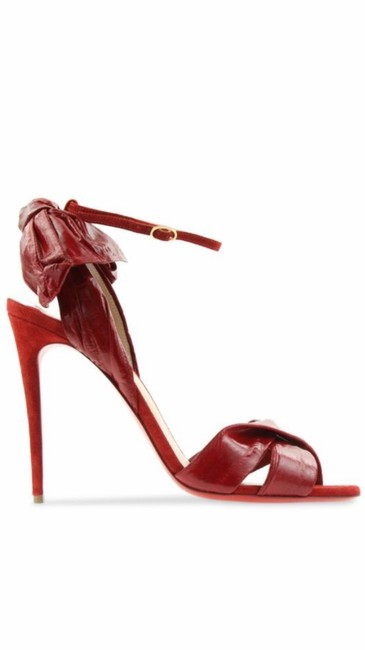Item - Red Marylineska Anguille Rougisimme Formal Shoes Size EU 37 (Approx. US 7) Regular (M, B)
