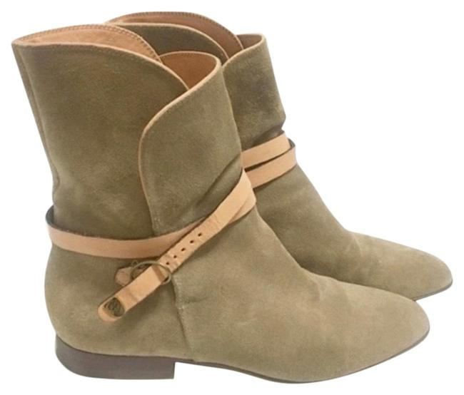 Item - Tan Rare Impossible To Find Boots/Booties Size US 7.5 Regular (M, B)