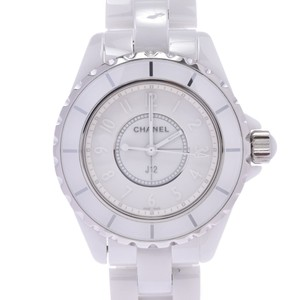Chanel CHANEL Chanel J12 White Phantom LTD Edition Ceramic Mid Size Watch H3442