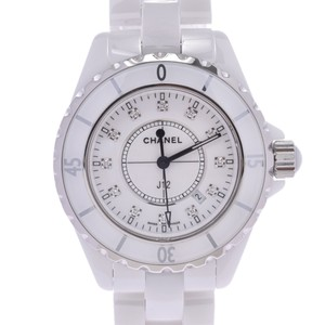 Chanel CHANEL J12 Diamond Ceramic Quartz Ladies Watch H1628