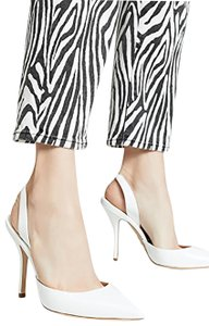 Paul Andrew White Pumps