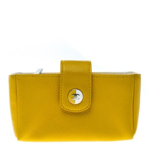 Chanel Chanel Yellow Leather IPhone 5 Case