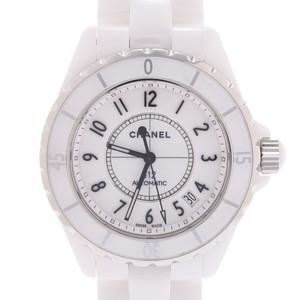 Chanel CHANEL Chanel J12 38mm Mens Watch White Dial