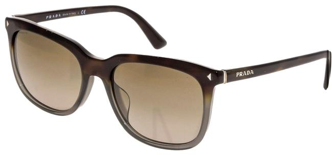 Item - Brown Gray 12r Journal Square Tortoise Classic Pr12rfs Sunglasses