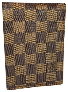 Louis Vuitton PASSPORT COVER DAMIEF EBENE