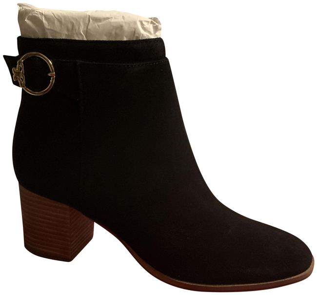 Item - Black Sofia 65mm Suede Boots/Booties Size US 7 Regular (M, B)