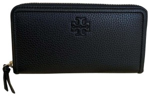 NWT TORY BURCH PEACE EMBELLISHED ZIP CONTINENTAL WALLET FRENCH GRAY