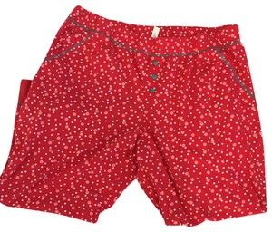 Cacique Baggy Pants Red and white
