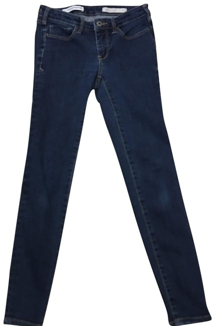 Item - Blue Medium Wash Pilcro and The Letterpress High Rise Skinny Jeans Size 2 (XS, 26)