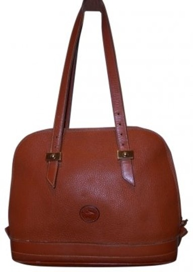 Dooney & Bourke Satchel in Milk-Chocolate Brown