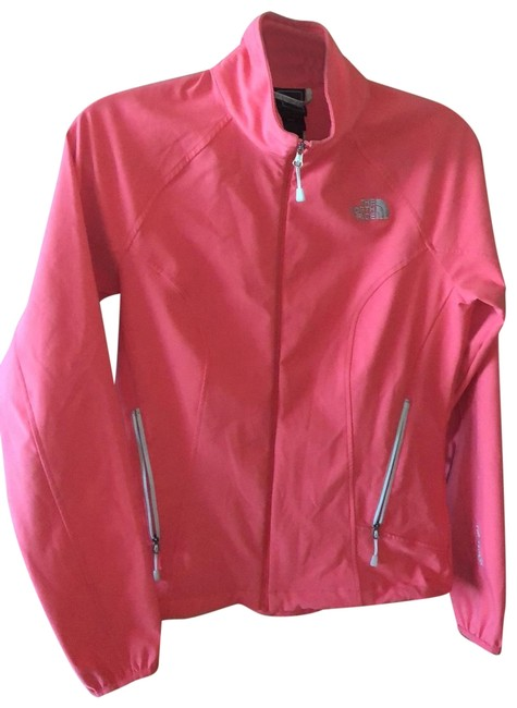 Item - Coral Tnf Apex Lightweight Stretch Jacket Size 8 (M)