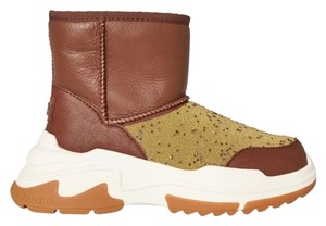 Australia Luxe Collective Cosyx Leather Brown/Gold Boots