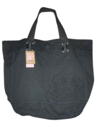 Preload https://img-static.tradesy.com/item/27123/juicy-couture-it-girl-black-canvas-tote-0-0-540-540.jpg