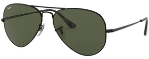 Ray-Ban Crystal Green Lens Rb3689 914831 Unisex Aviator