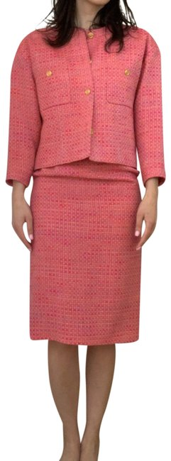 Item - Pink 20833 Skirt Suit Size 6 (S)