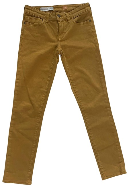 Item - Yellow Gold Pilcro and The Letterpress 25 Boot Cut Like New Straight Leg Jeans Size 0 (XS, 25)