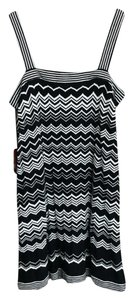 Missoni for Target short dress Black White With Tags Chevron & Gray on Tradesy