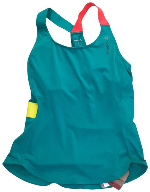 Item - Teal Pink Small Activewear Top Size 4 (S)