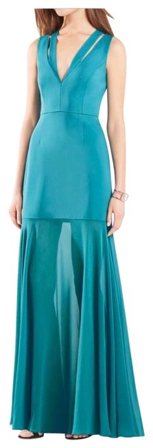 Item - Blue 1233443 Long Formal Dress Size 6 (S)