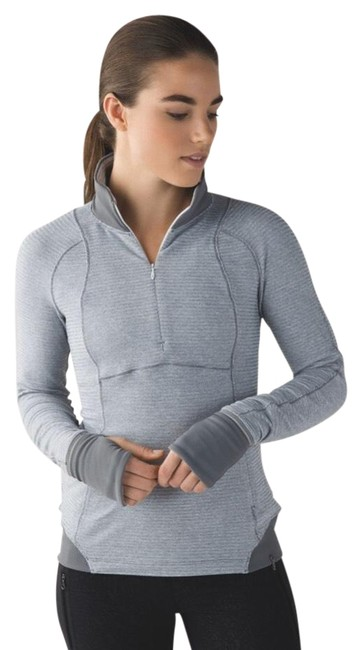 Item - Gray Runderful 1/2 Zip Activewear Outerwear Size 6 (S)