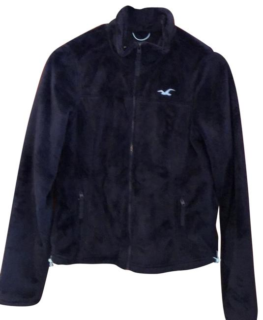 Item - Dark Navy Blue Fleece Jacket Activewear Size 4 (S)