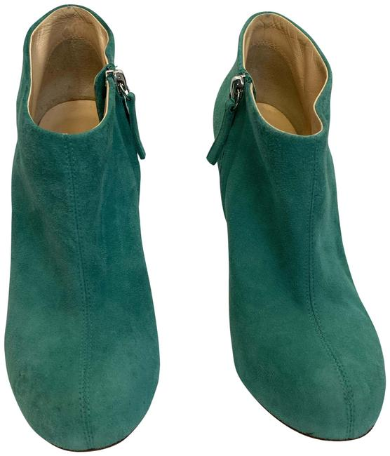 Vero Cuoio Turquoise Suede 38½eu Boots/Booties Size EU 38.5 (Approx. US 8.5) Regular (M, B) Vero Cuoio Turquoise Suede 38½eu Boots/Booties Size EU 38.5 (Approx. US 8.5) Regular (M, B) Image 1